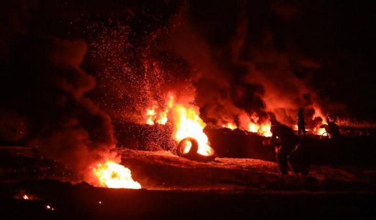 Disturbios en frontera con Gaza generan falsa alarma de mortero disparado hacia Israel
