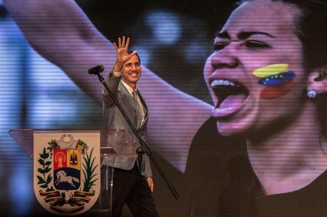 Juan Guaidó dice que restablecerá lazos de Venezuela con Israel