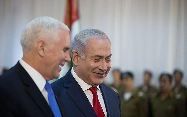 Netanyahu se reunirá esta semana con Pence y Pompeo en Cumbre de Oriente Medio en Varsovia