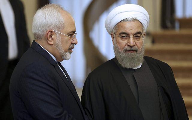 Presidente iraní rechaza la renuncia del Ministro de Relaciones Exteriores Zarif