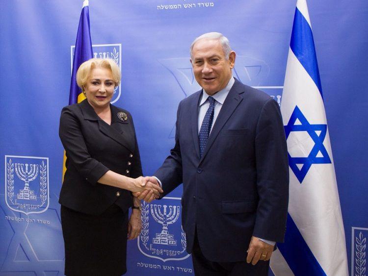 PM de Rumania anuncia traslado de embajada en Israel a Jerusalén