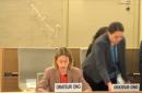 Cortan el micrófono a oradora en plena defensa a Israel en la ONU