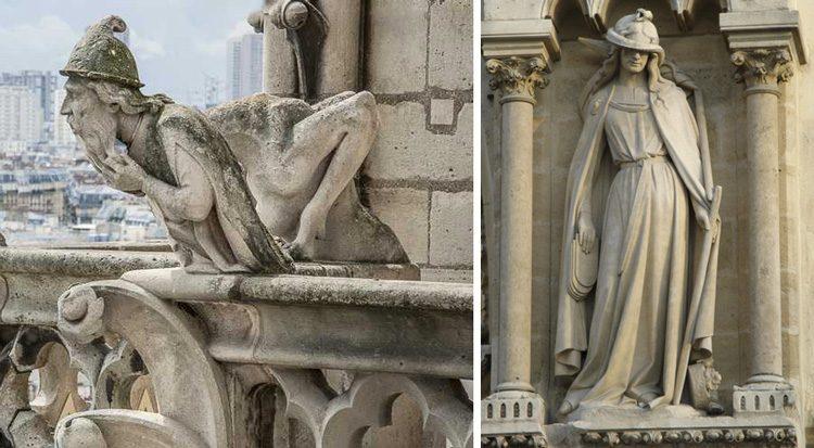 La huella antisemita esculpida en la Catedral de Notre Dame