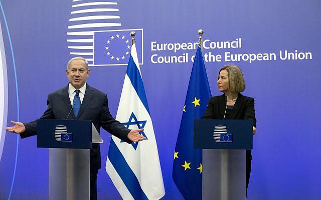 Ex líderes europeos instan a la UE a rechazar plan de Trump si no hay estado palestino