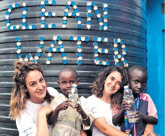 Ingenieras israelíes llevan agua potable a comunidad de Uganda