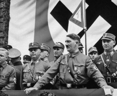 Los principales  dirigentes del partido Nazi
