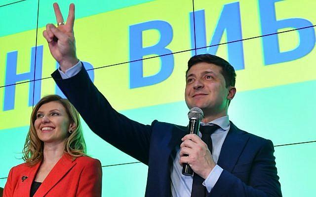 Ucrania investirá al comediante Zelensky como presidente