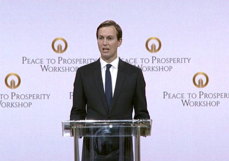 Acuerdo sobre plan económico es precondición para la paz: Kushner en cumbre de Baréin