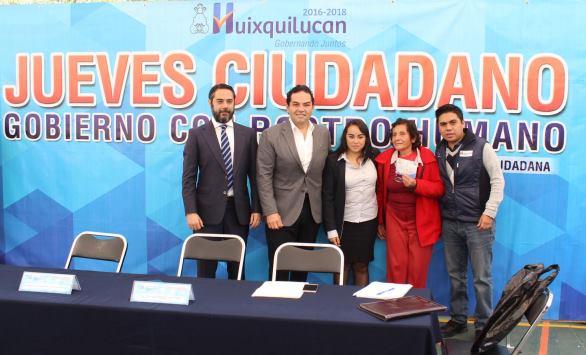 """""""Jueves Ciudadano"""" con el Presidente Municipal de Huixquilucan en Monte Sinaí"""
