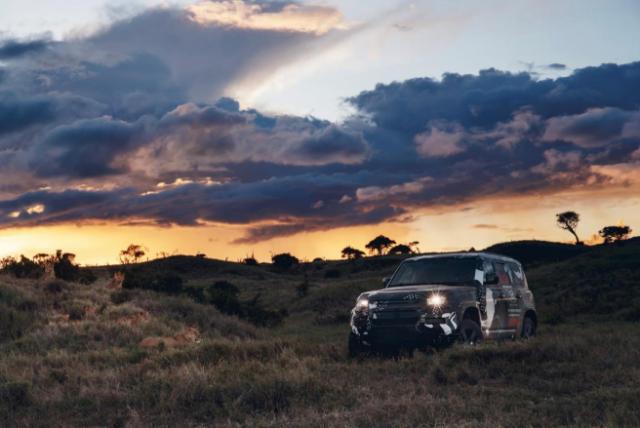 El nuevo Land Rover Defender completa las pruebas de Tusk
