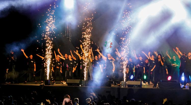 Se despiden de la Macabiada Panamericana con fiesta musical