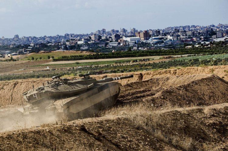 FDI culminan ejercicio de simulación de guerra en Gaza