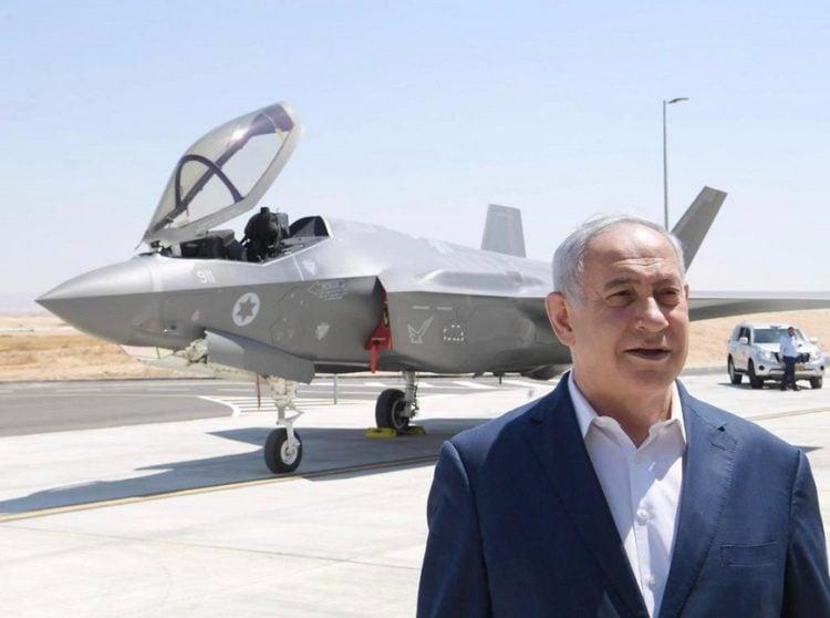 Netanyahu advierte: Los F-35 de Israel pueden llegar hasta Irán