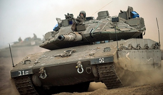 El carro de combate de Israel