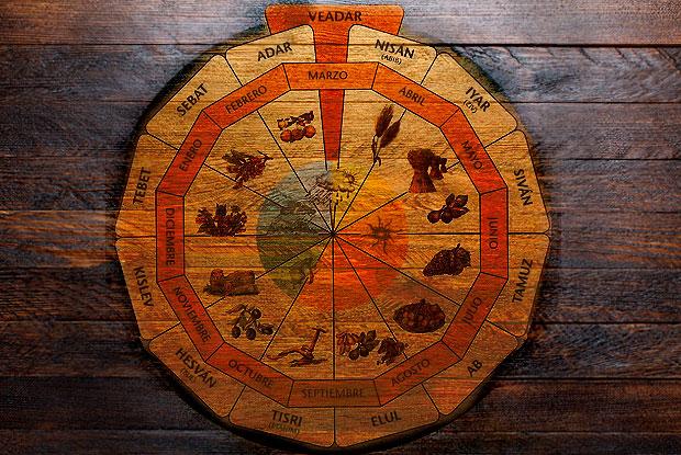 El calendario hebreo, una organización del tiempo muy singular
