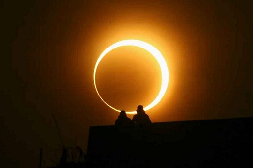 El eclipse solar: un mensaje judío