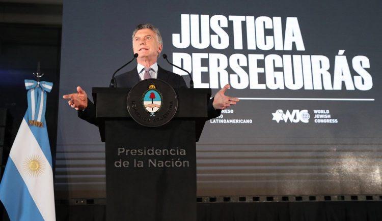 Seguiremos luchando contra impunidad y por justicia en caso AMIA: Macri