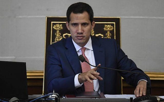 Juan Guaidó designará a rabino como enviado a Israel