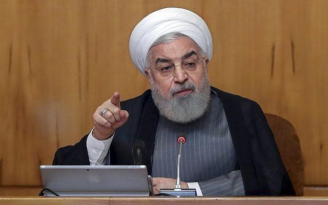 """Rohani advierte que un conflicto con Irán será la """"madre de todas las guerras"""", insta a la paz"""