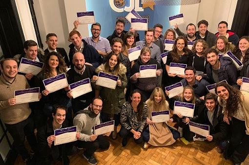 Congreso Judío Latinoamericano capacitó a 35 nuevos diplomáticos de la comunidad judía