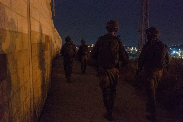 FDI impide la infiltración de palestinos de Gaza armados con lanzagranadas antitanque y granadas