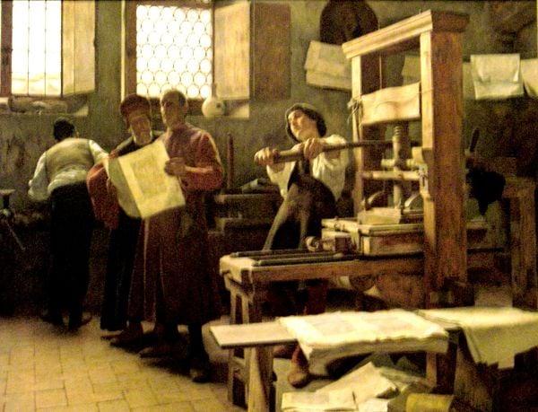 ¿Quiénes fueron los primeros impresores judíos y qué libro publicaron?