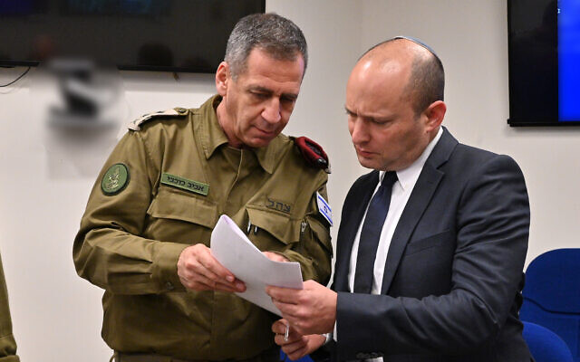 Bennett ordena a las FDI examinar viabilidad de isla artificial frente a Gaza
