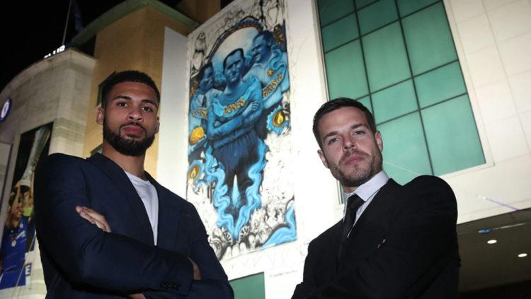 El Chelsea FC presenta mural con futbolistas judíos asesinados en Auschwitz