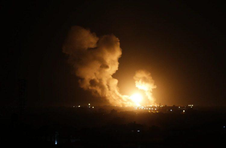 FDI lanzan ataque aéreo contra la Yihad Islámica Palestina en Gaza y Siria