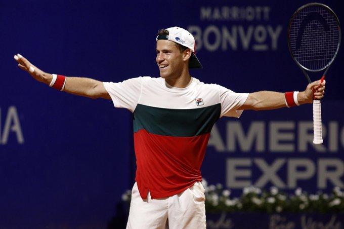 Disputa El Tenista Judio Diego Schwartzman El Partido Mas Largo En La Historia Del Abierto De Argentina