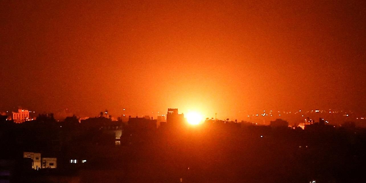 Israel ataca posición de Hamás tras disparo de cohete desde Gaza