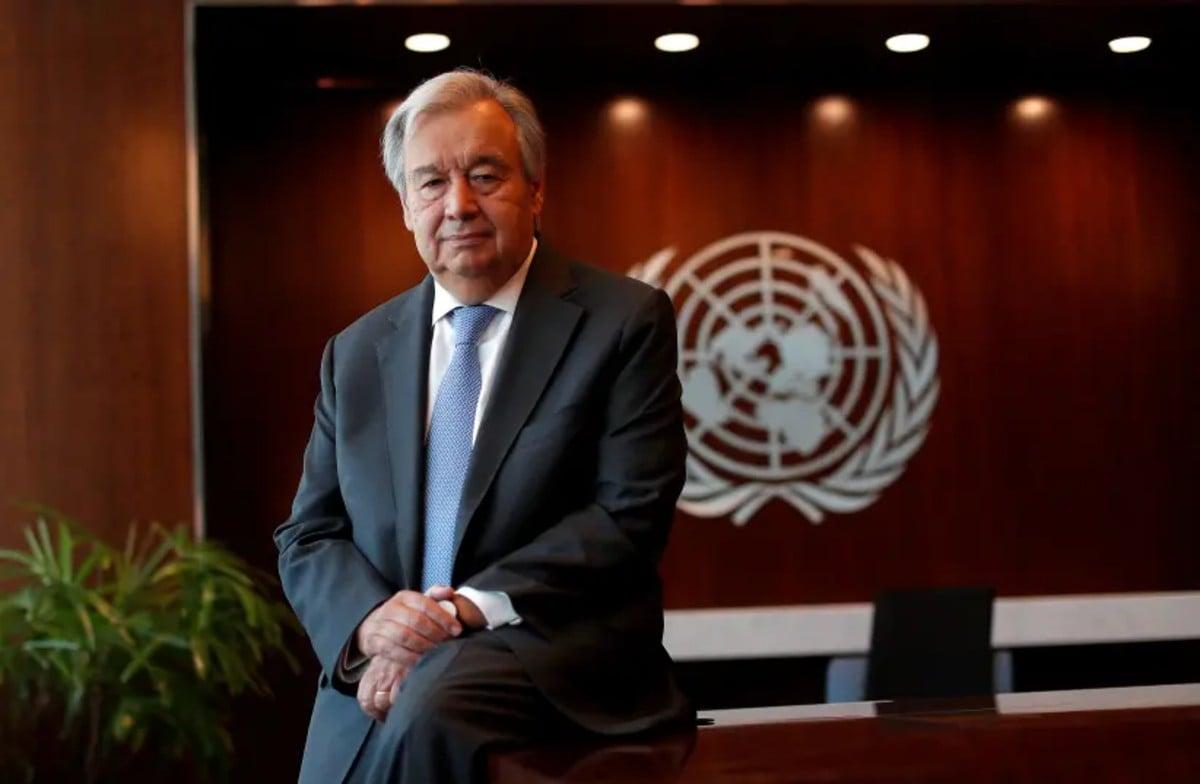 Secretario General De La Onu «el Brote De Coronavirus Está Fuera