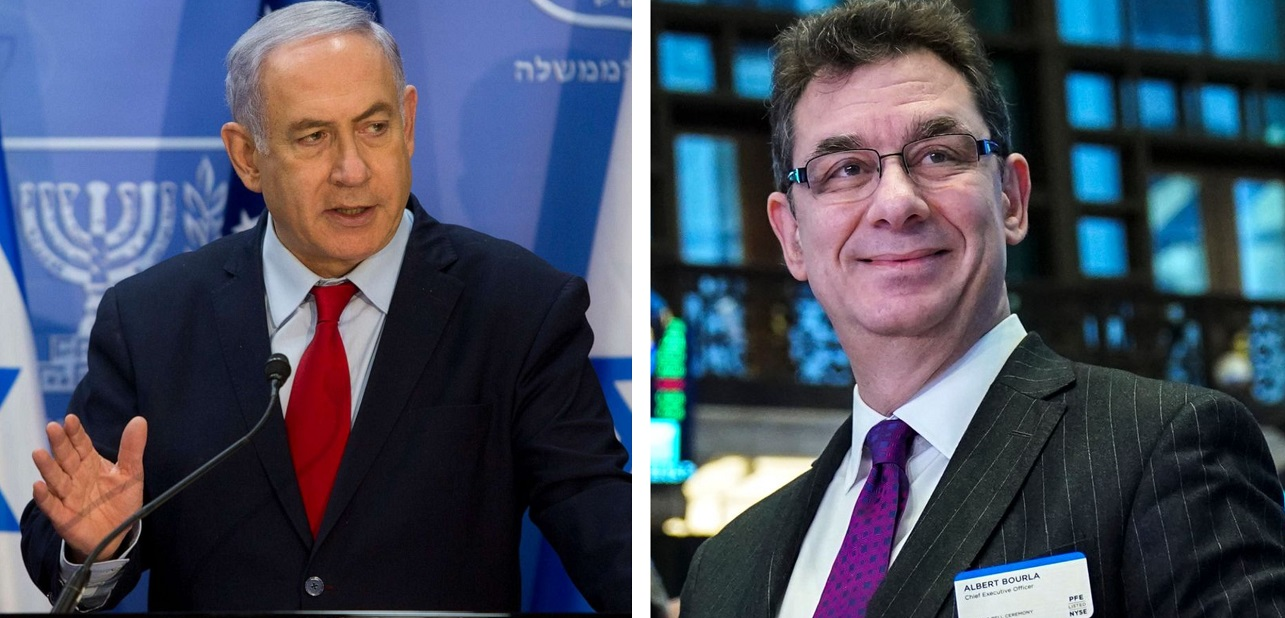 Netanyahu and Bourla