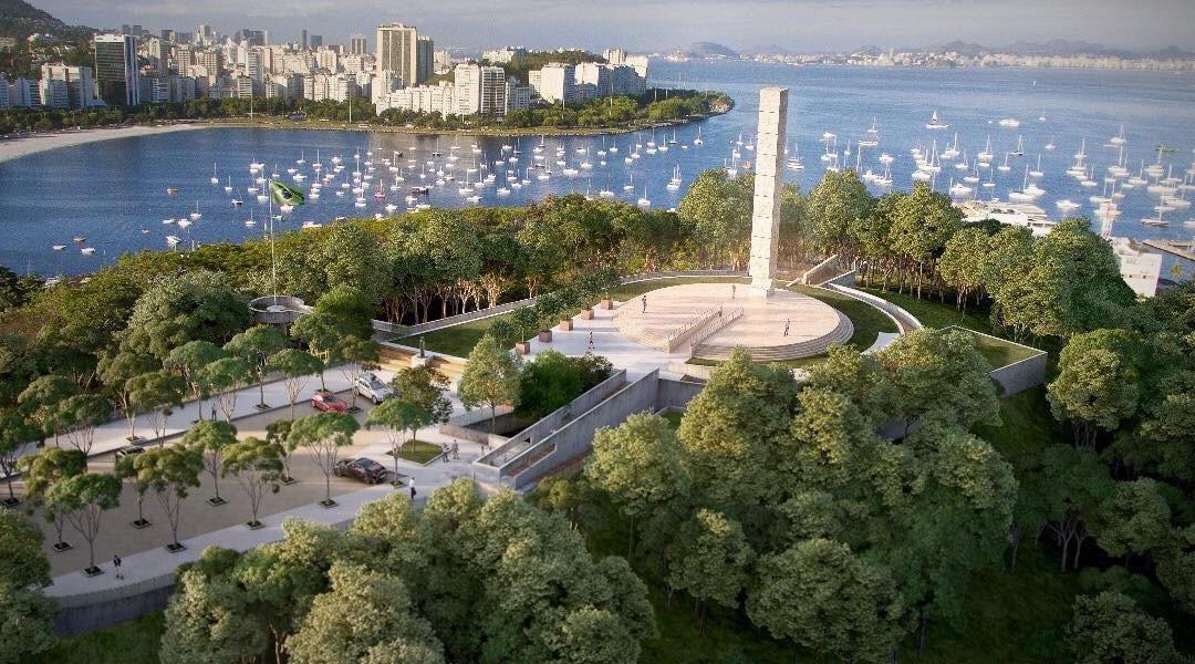 Río de Janeiro inauguró un memorial del Holocausto que incluye una torre de 22 metros de altura y domina el paisaje del Pan de Azúcar.