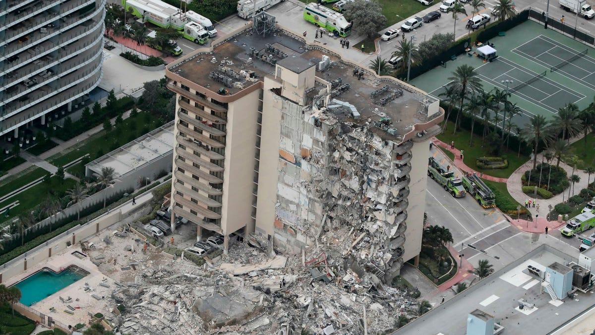 Ingeniero advirtió sobre daños estructurales antes del colapso del edificio  en Florida