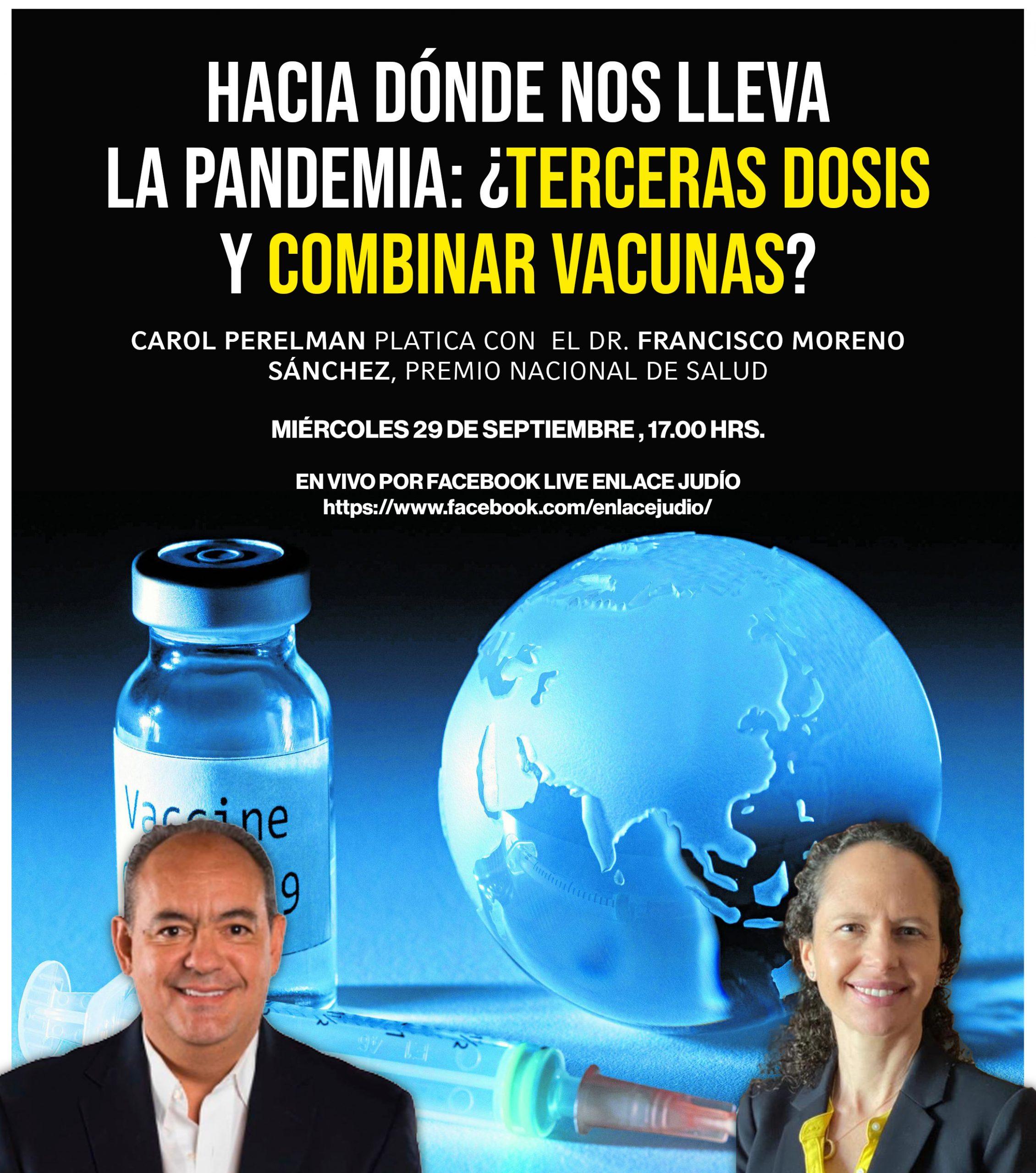 Hacia dónde nos lleva la pandemia: ¿terceras dosis y combinar vacunas?