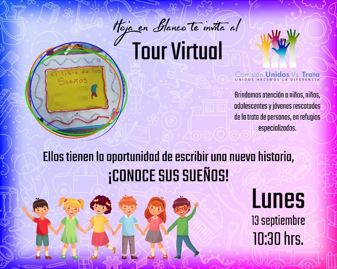 Hoja en Blanco te invita al Tour Virtual: El libro de los Sueños